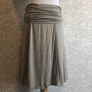 MAX STUDIO Gathered waist skirt